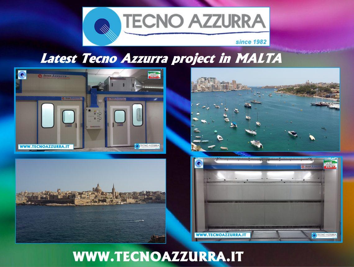 Latest customized project in Malta - Tecnoazzurra